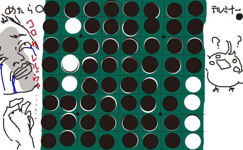 アルフレッド・リード / 組曲オセロ (白:めたらぁさん vs 黒:テルミナー)