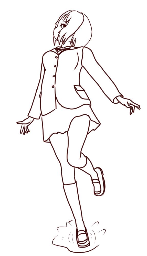 レミオロメン / 雨上がり (線画)