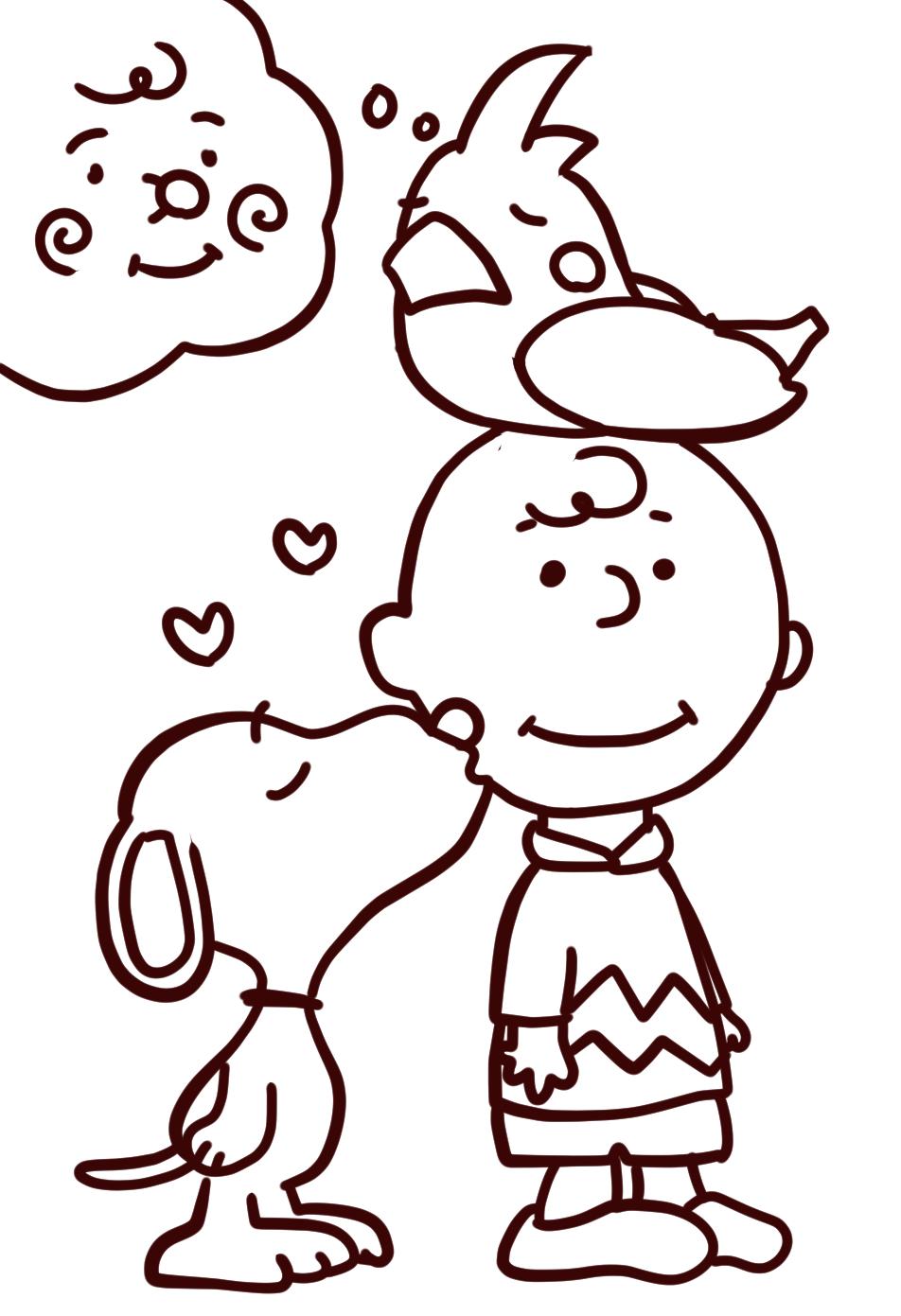 Voodoo Glow Skulls / Charlie Brown (線画)